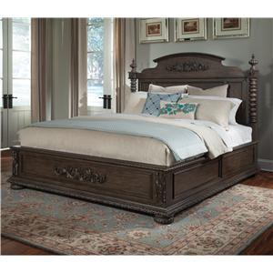 Klaussner International Versailles King Bed