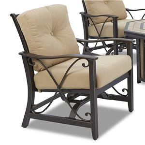 Klaussner Outdoor Apollo Cushioned Spring Chair - 2 Pack