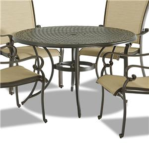 """Klaussner Outdoor Basics 48"""" Dining Table"""