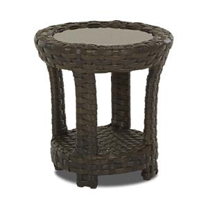 Klaussner Outdoor Cassley Round Accent Table