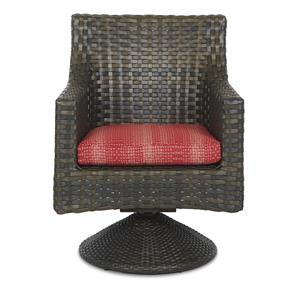 Klaussner Outdoor Cassley Swivel Rocker Dining Chair