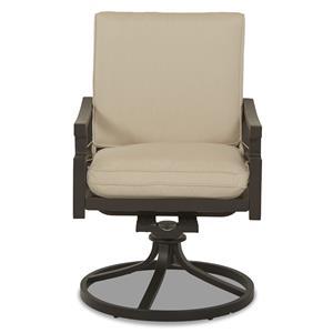 Klaussner Outdoor Linder Swivel Rocker Dining Chair - 2 Pack