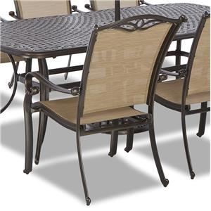 Klaussner Outdoor Verona Sling Dining Chair - 4 Pack