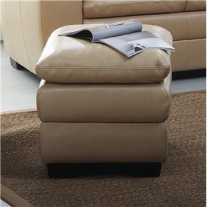 BFW Lifestyle 1588 Upholstered Ottoman