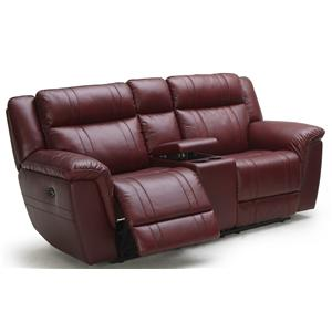 K.C. Norton Norton Reclining Leather Love (POWER Option)