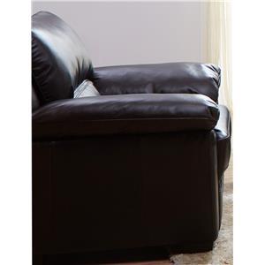 K.C. Vista Vista Leather Chair