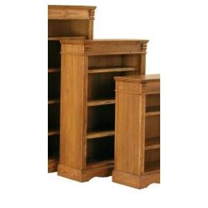 Kurio King Burnished Oak Bookcases 48 Inch Bookcase
