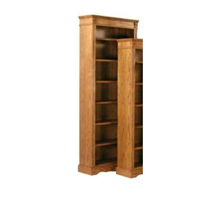Kurio King Burnished Oak Bookcases 84 Inch Bookcase