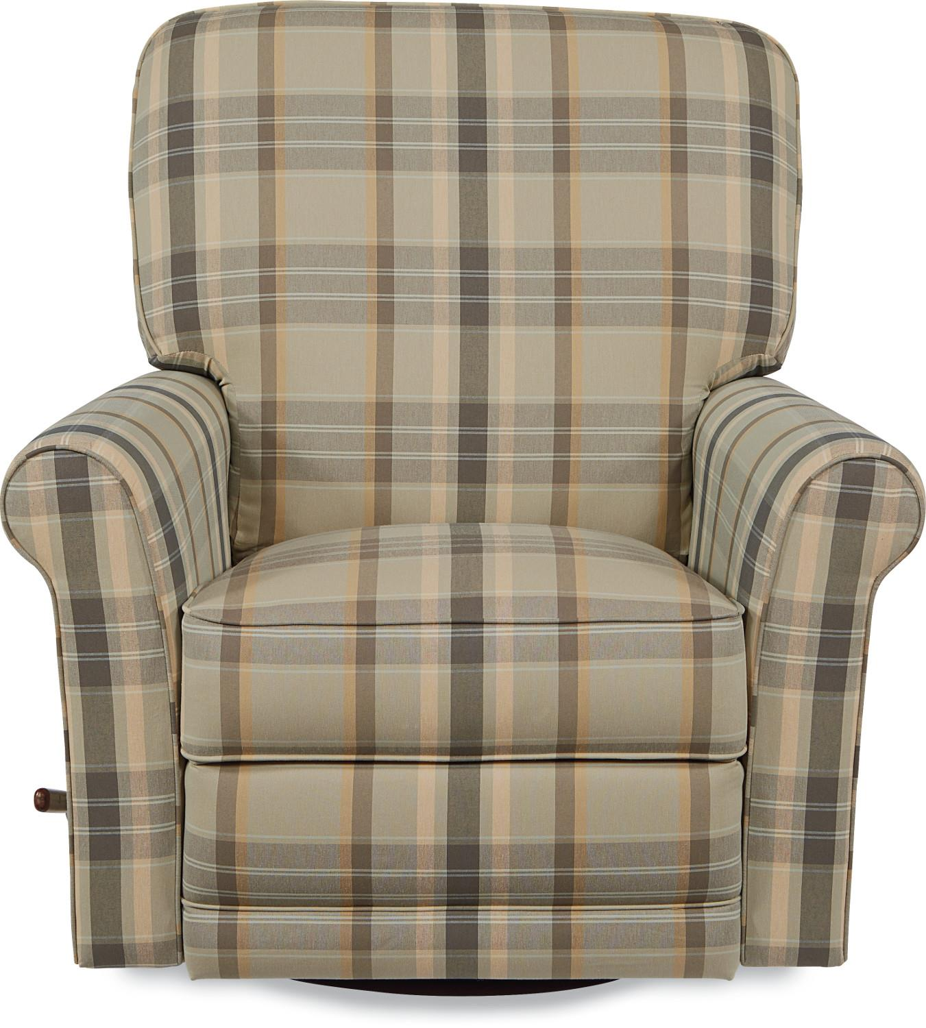 transitional swivel glider recliner by la z boy wolf and