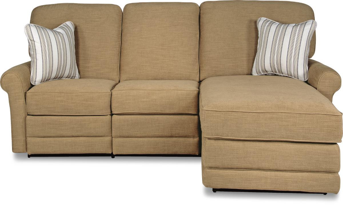 two piece reclining sectional sofa with raf reclining chaise