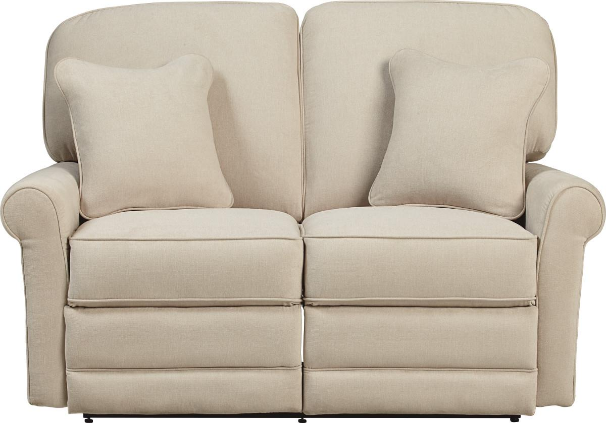 Transitional Reclining Loveseat By La Z Boy Wolf And Gardiner Wolf Furniture