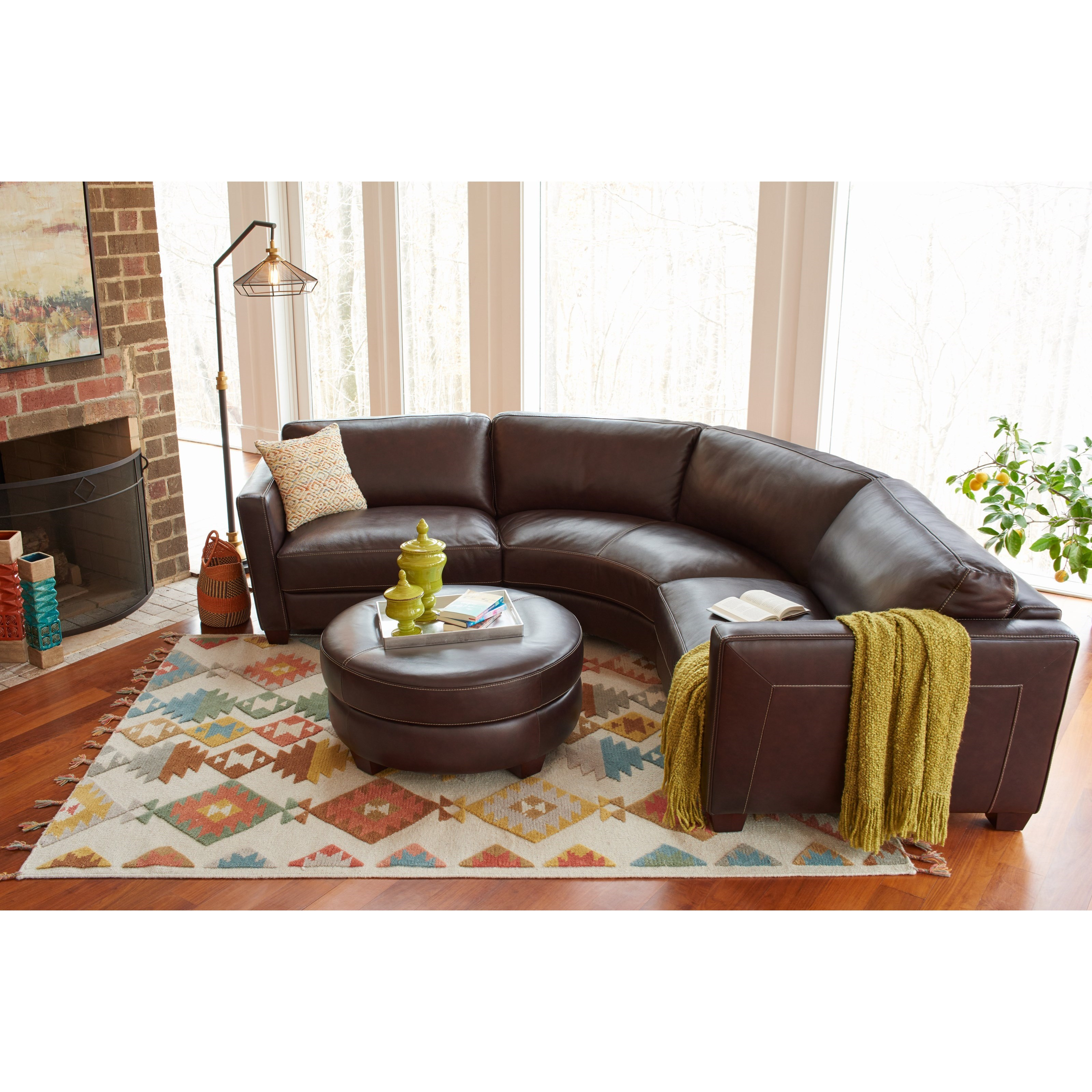 Charmant 3 Pc Sectional Sofa