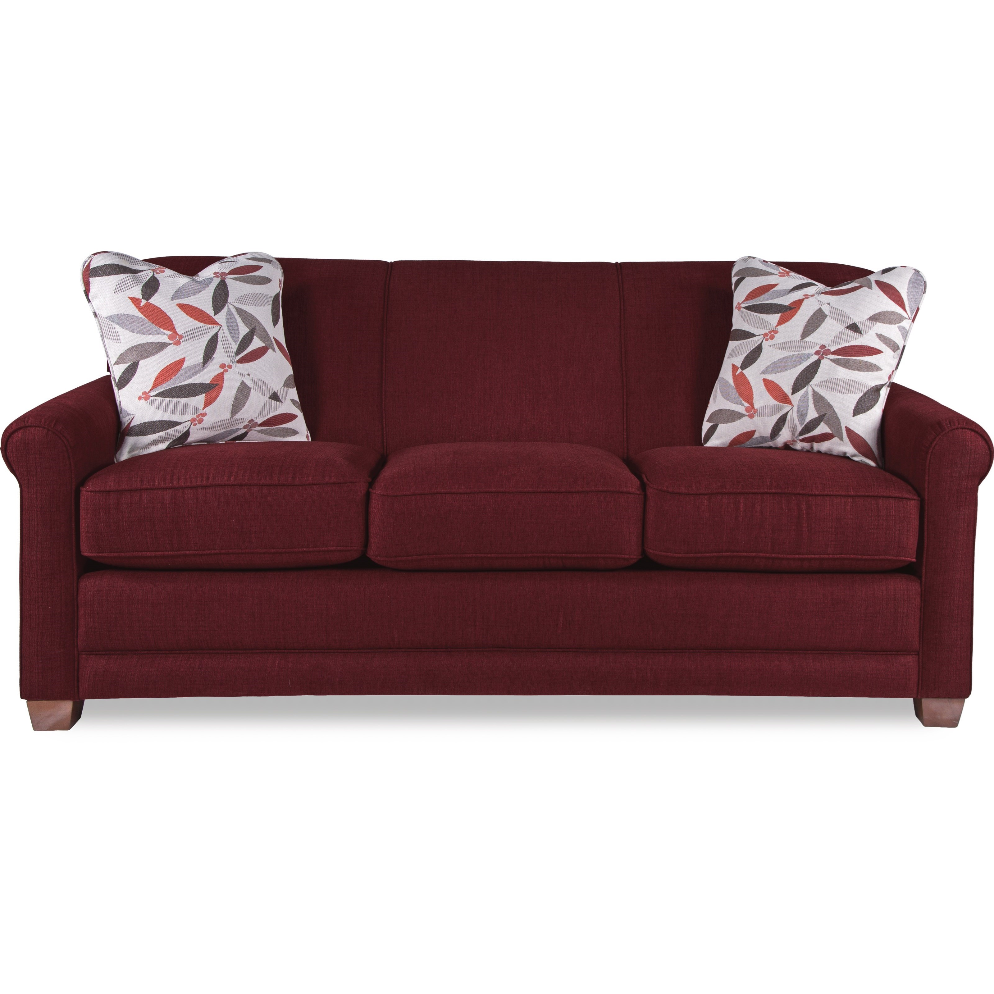 Casual Sofa with Premier ComfortCore Cushions