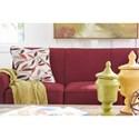 La-Z-Boy Amanda Casual Sleeper Sofa with Premier ComfortCore Seat Cushions and SupremeComfort Mattress