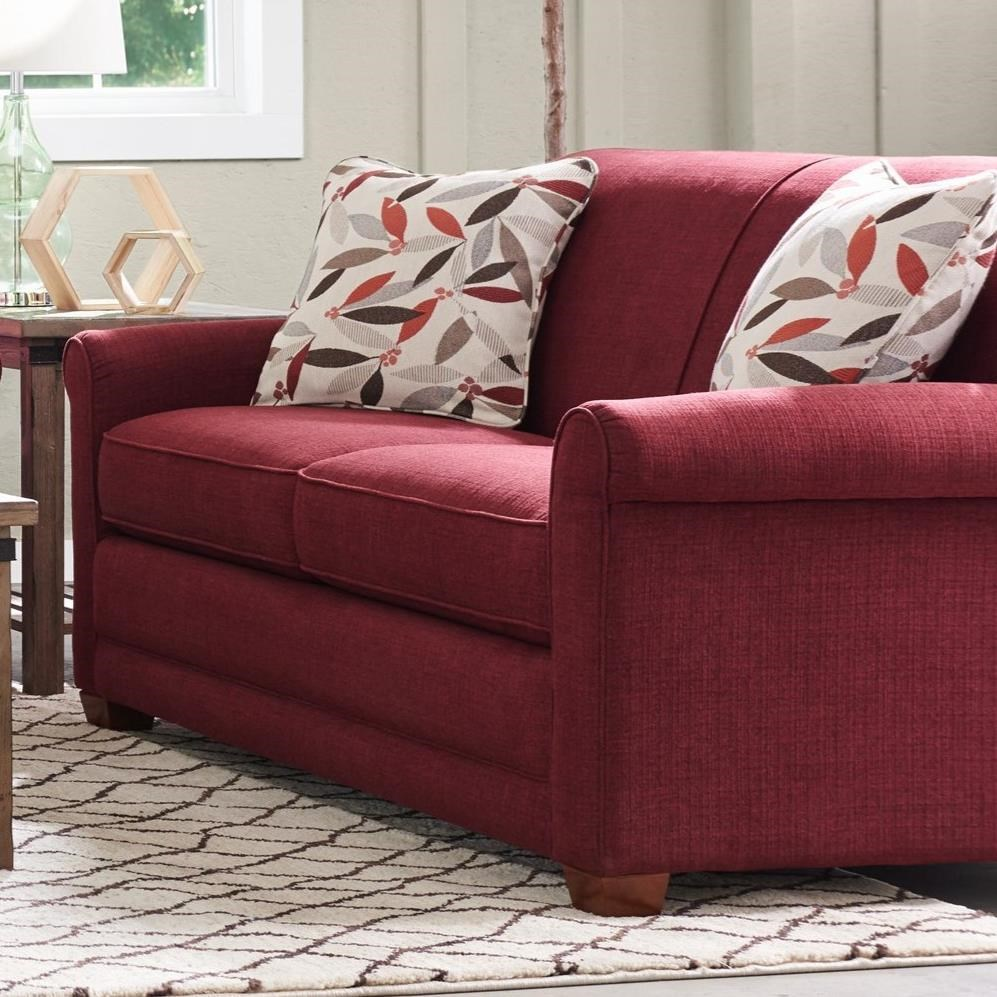 Casual Apartment-Size Sofa With Premier ComfortCore