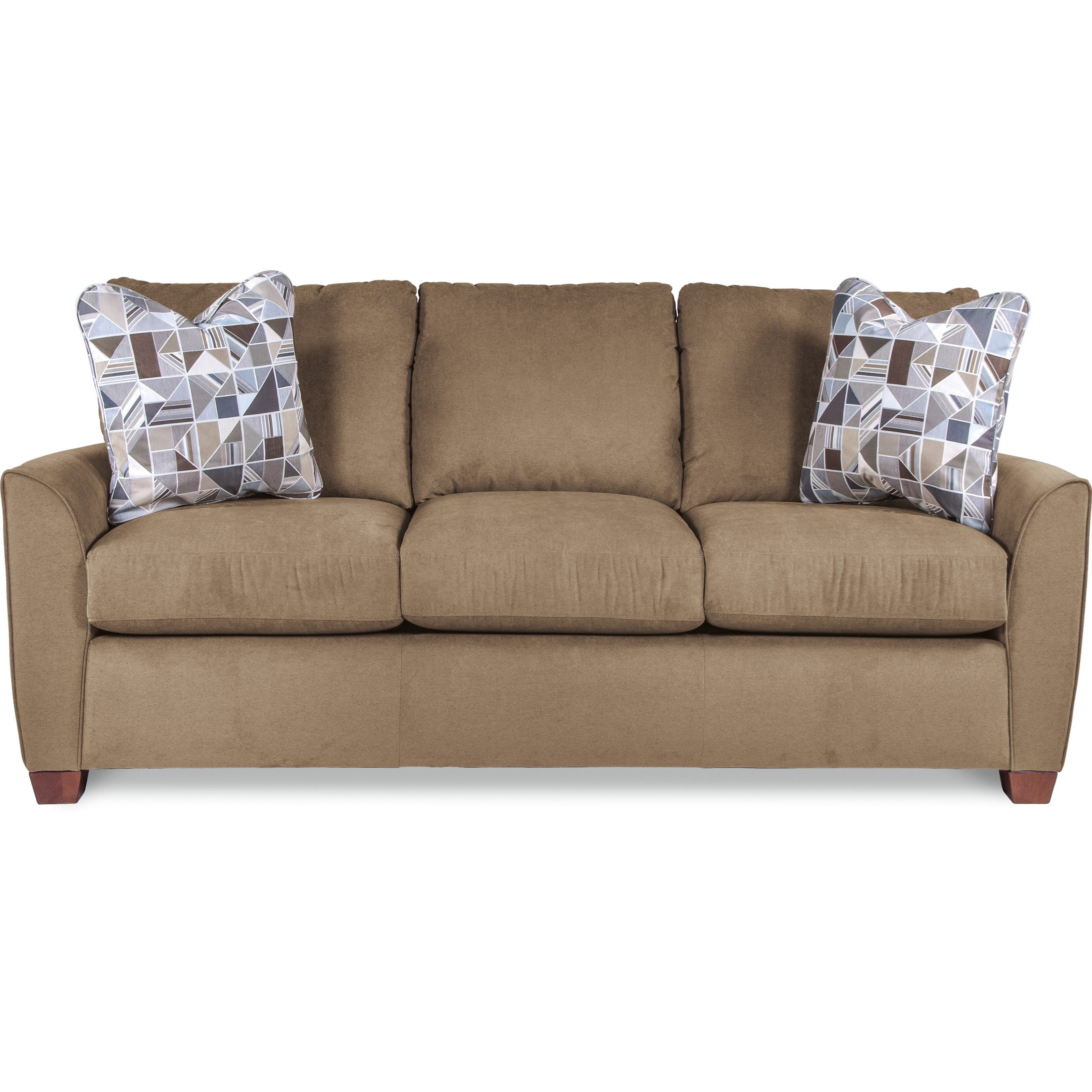 Casual Sofa With Premier Comfortcore Cushions By La Z Boy
