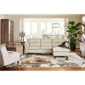 2 Pc Sectional Sofa w/ LAS Chaise