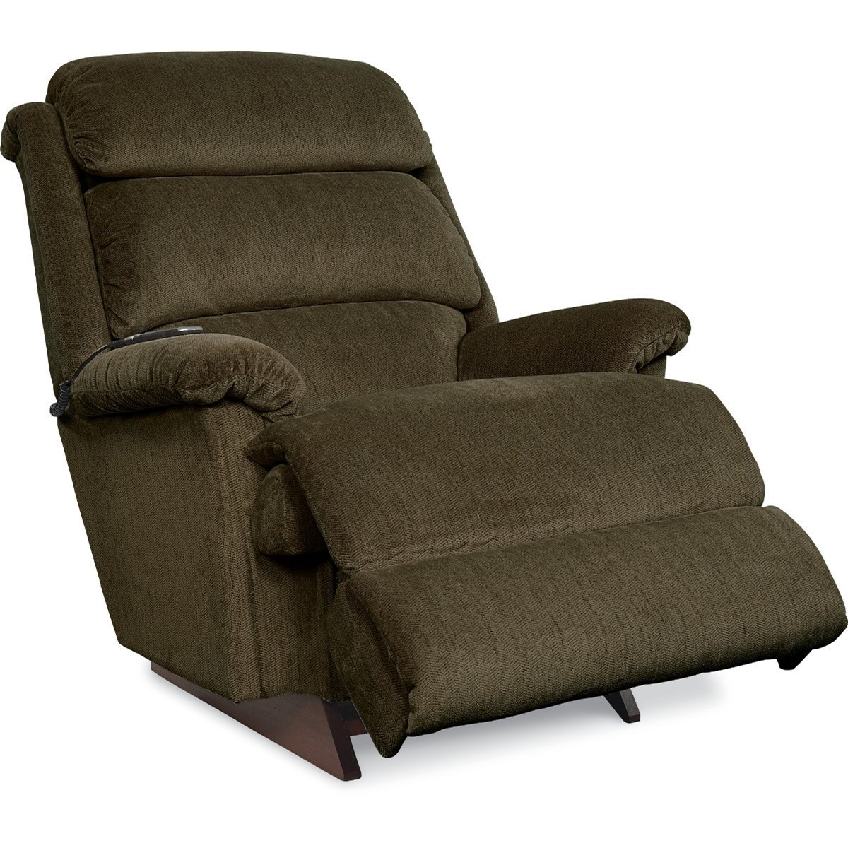 Reclina-Rocker with Channel-Tufted Back