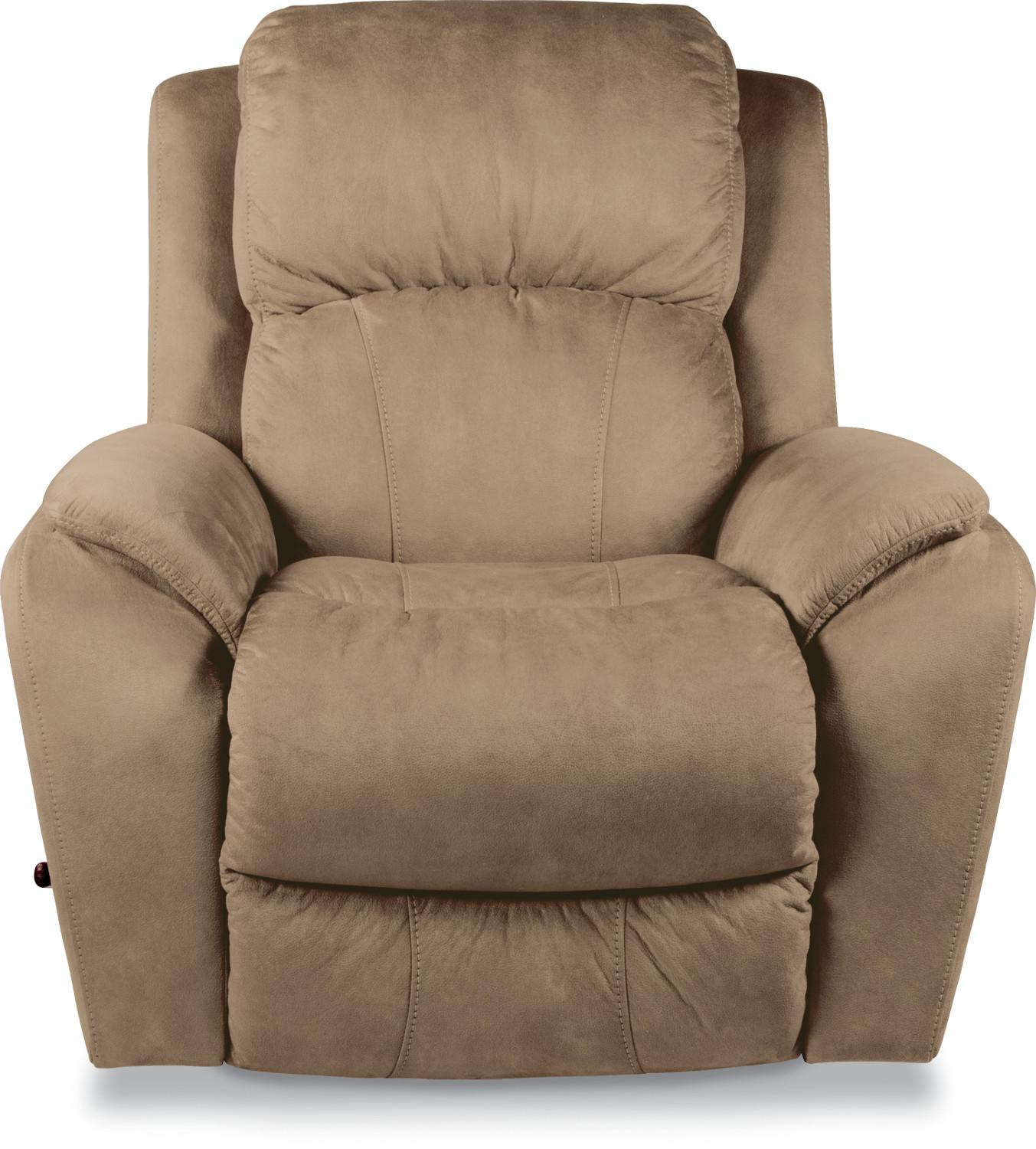 Casual RECLINA ROCKER Recliner with Pillow Arms by La Z Boy