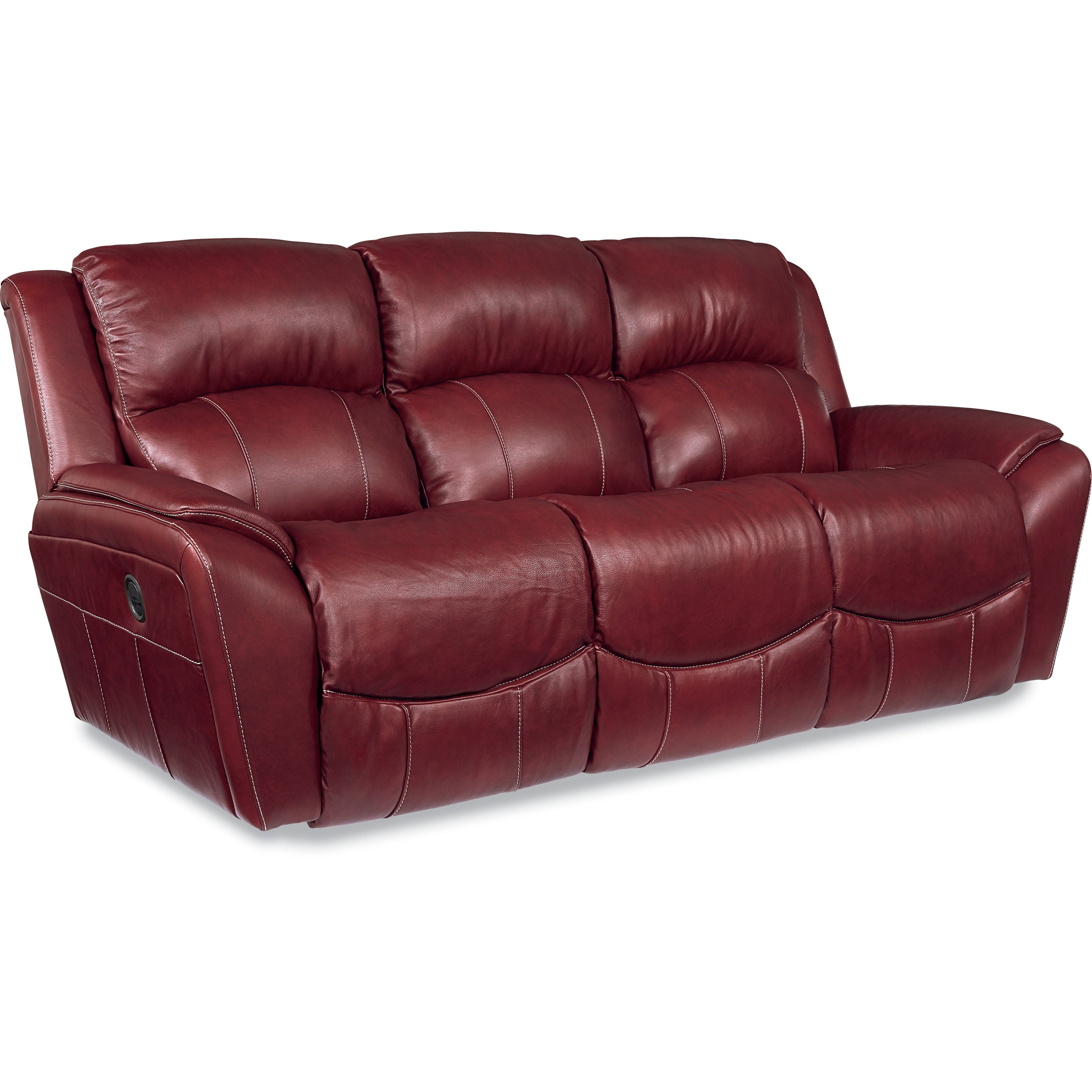 Casual Power La Z Time Full Reclining Sofa with Pillow Arms by La