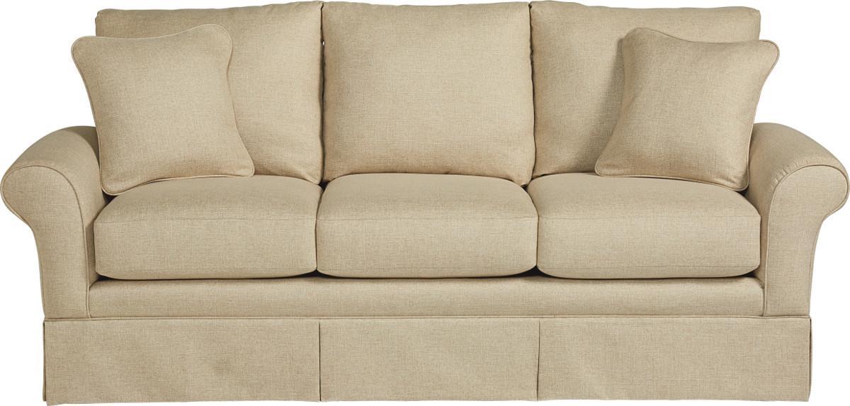 Casual La Z Boy® Sofa With Kick Pleat Skirt