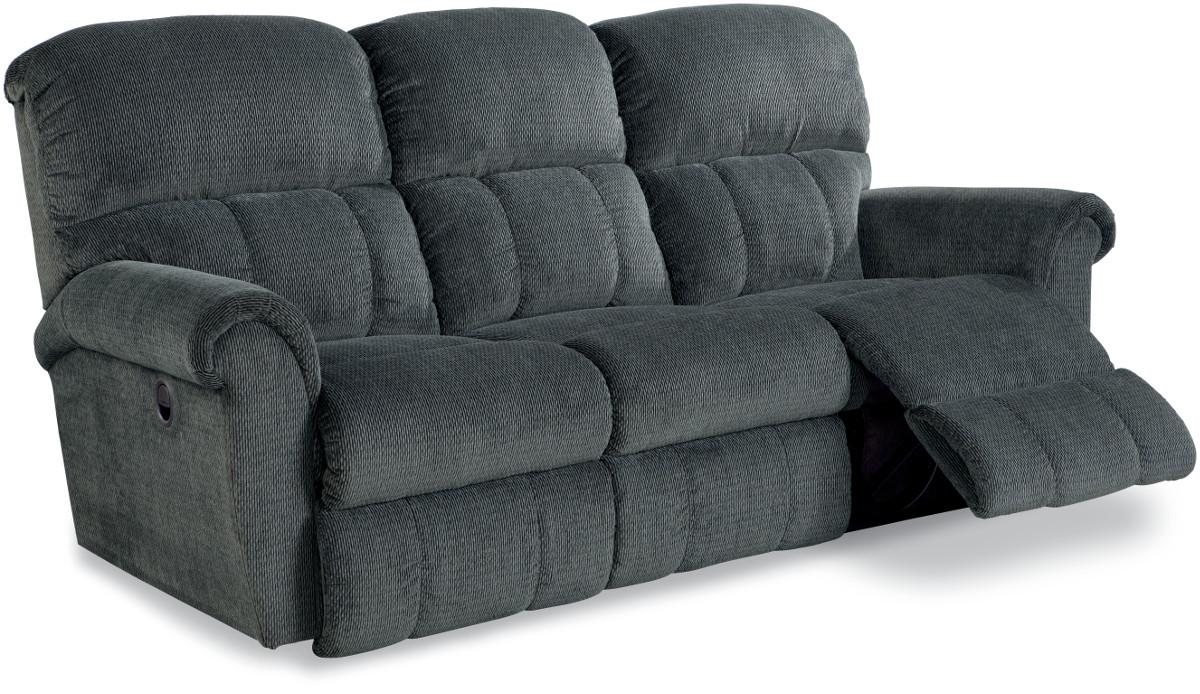 Power La Z Time 174 Full Reclining Sofa By La Z Boy Wolf