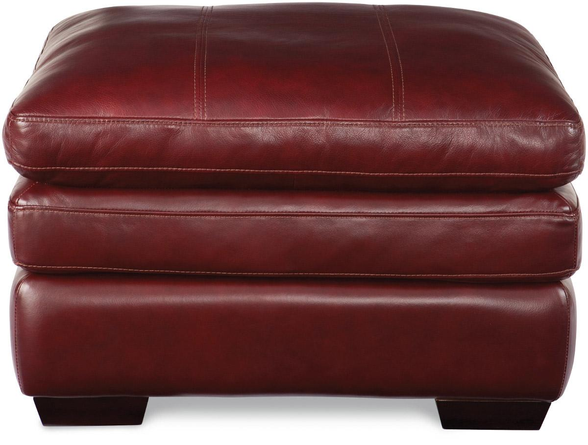 Casual Ottoman with Pillow Top Cushion