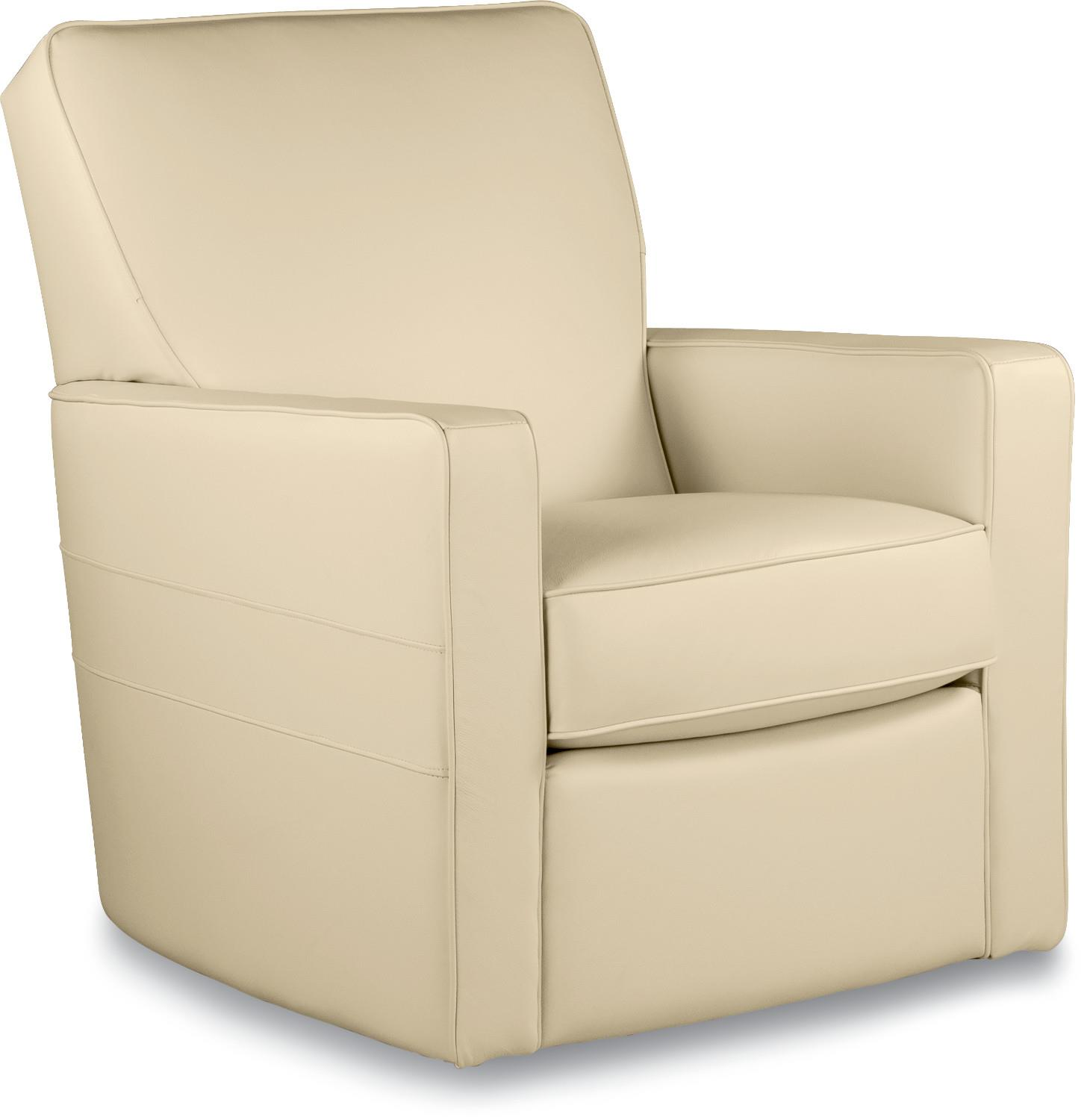 swivel chairs for living room contemporary midtown contemporary swivel glider chair by la z boy 26033