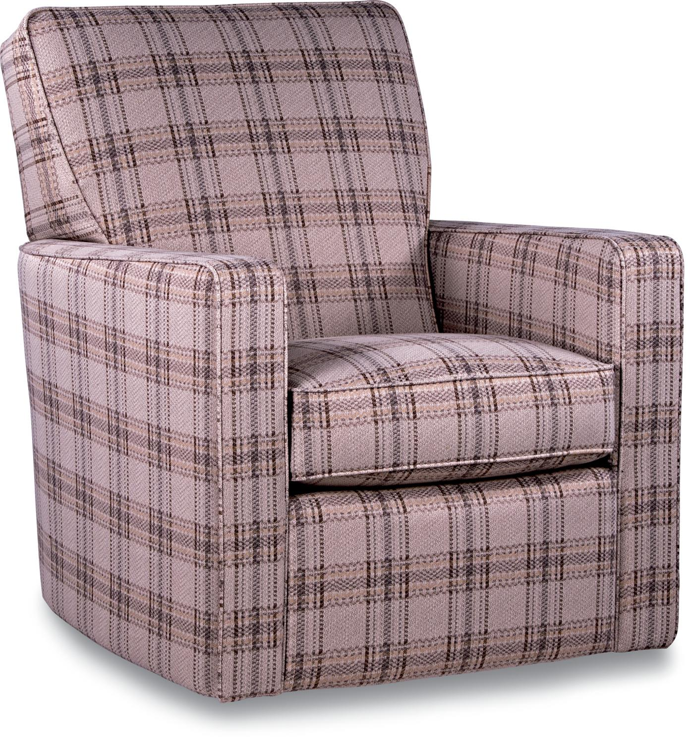 Midtown Contemporary Swivel Glider Chair