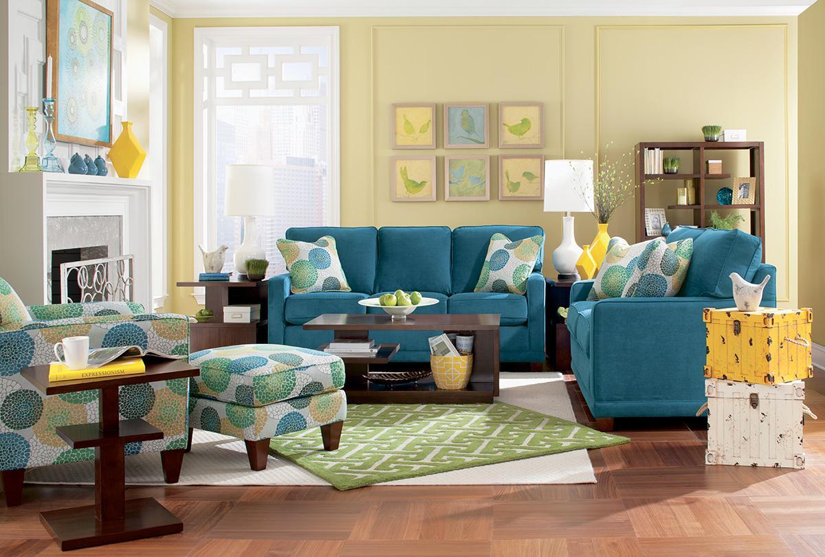 Lazy Boy Living Room Furniture Sets Allegra Chair Ottoman Set By La Z Boy Wolf And Gardiner Wolf