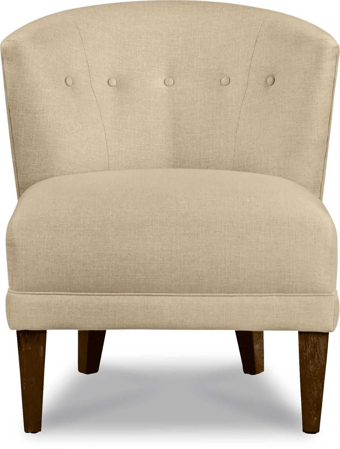 Nolita Accent Chair with Tapered Wood Legs