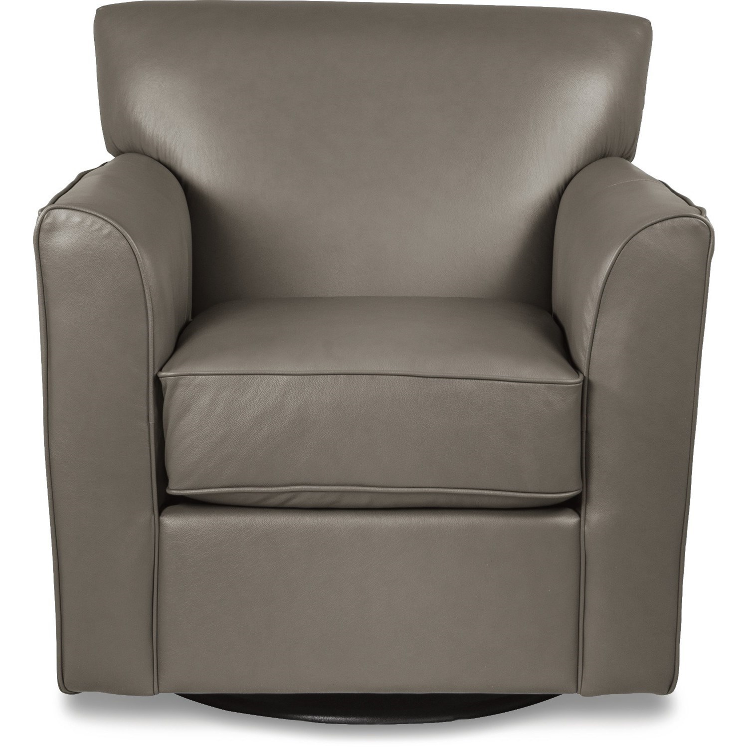 AllegraSwivel Chair with Flared Arms