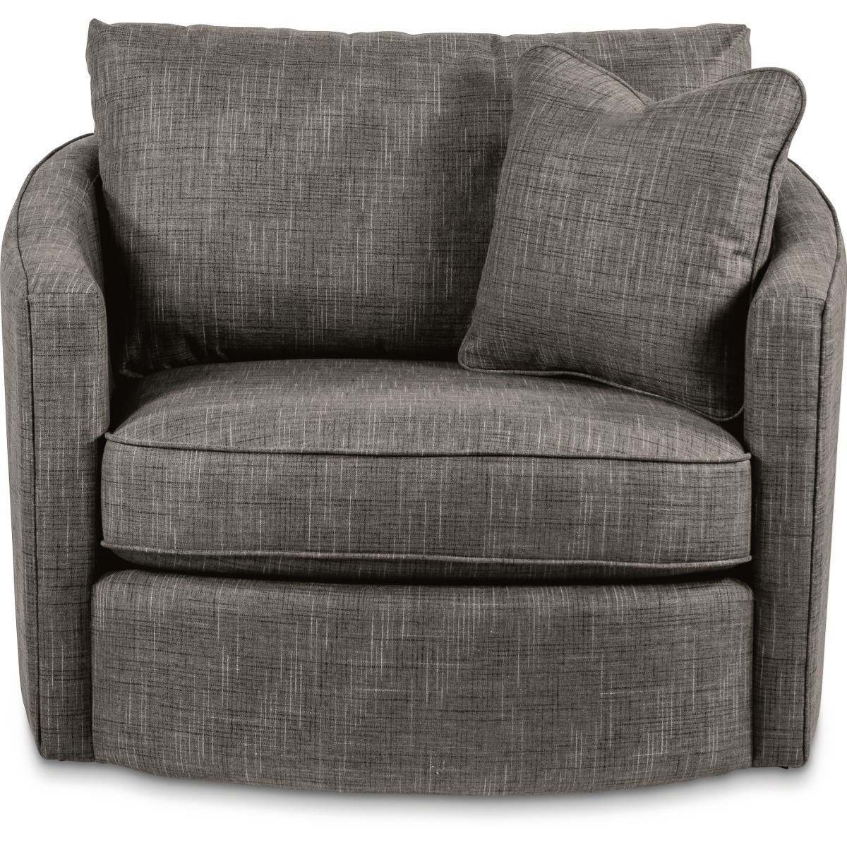 Clover Swivel Chair with Premier ComfortCore Cushion