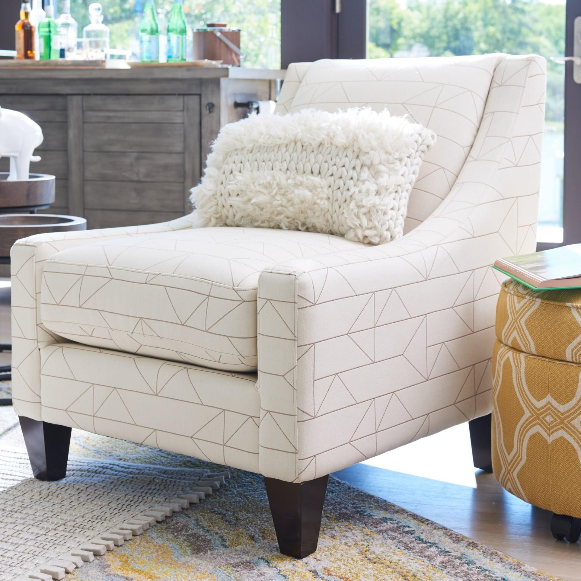 Avenue Chair with Low, Sloped Arms