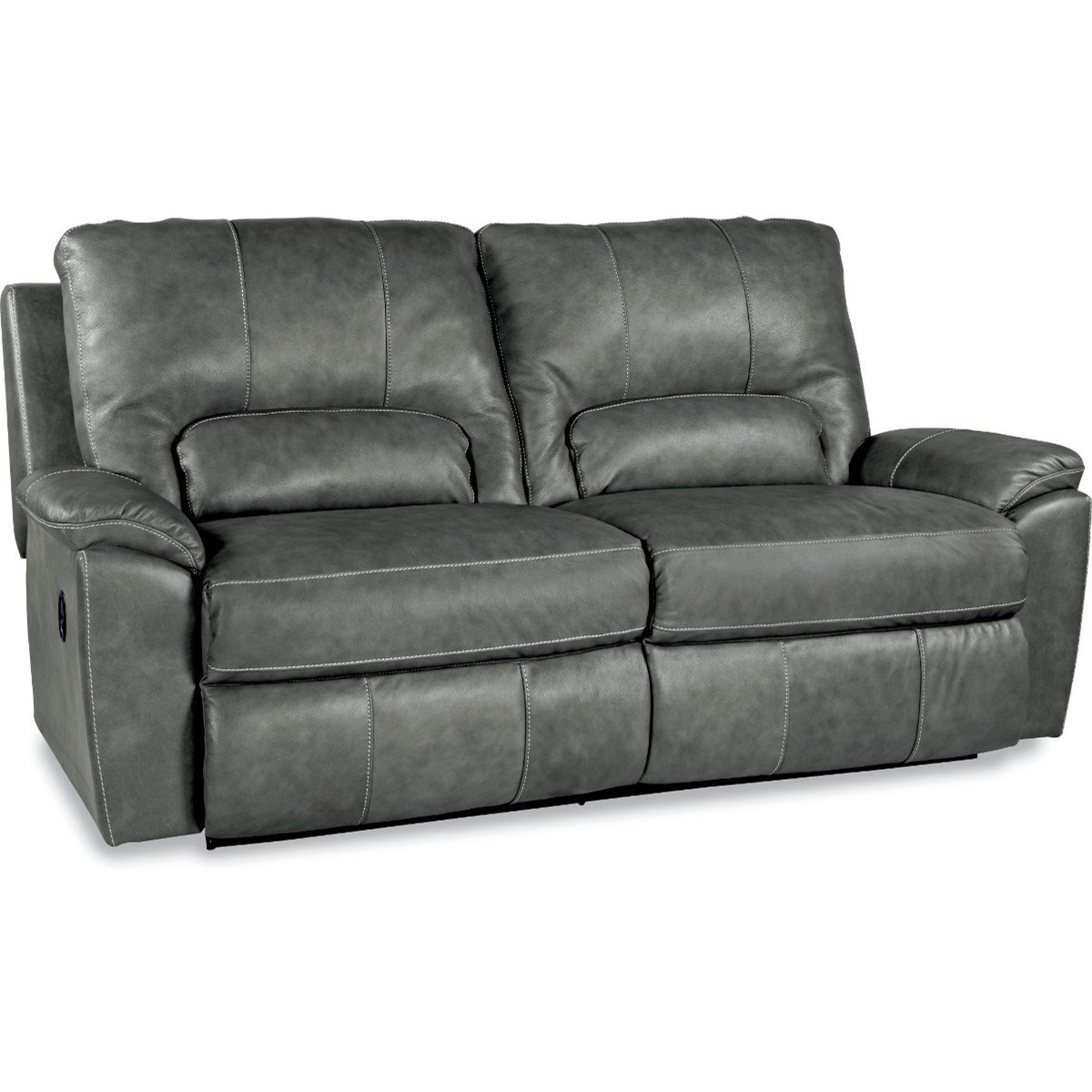 Power La Z Time Two Seat Reclining Sofa With Wide Seats And USB Ports