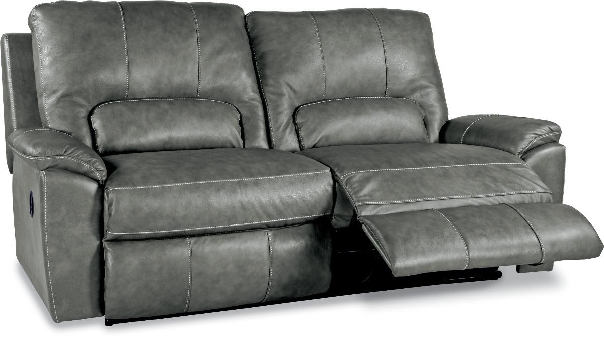 La z boy cool power leather 2 seater with 2 reclining chairs - La Z Time 2 Seat Power Reclining Sofa