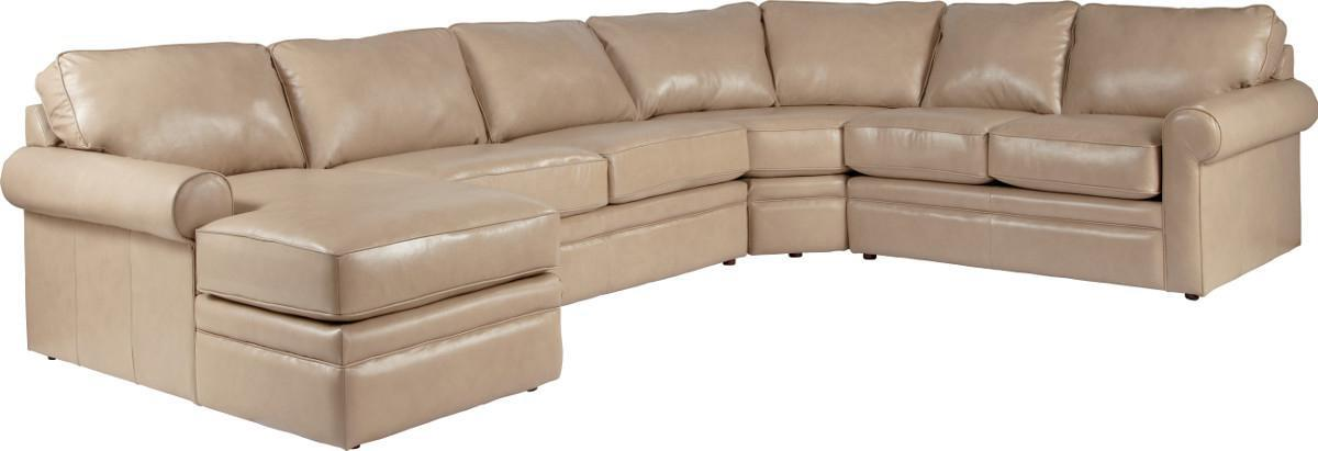 Sectional Sleeper Sofa With Full Mattress By LaZBoy Wolf And - Collins sectional sleeper sofa