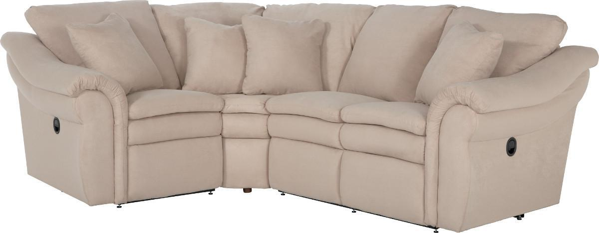 3 Pc Reclining Sectional Sofa with LAS Sofa