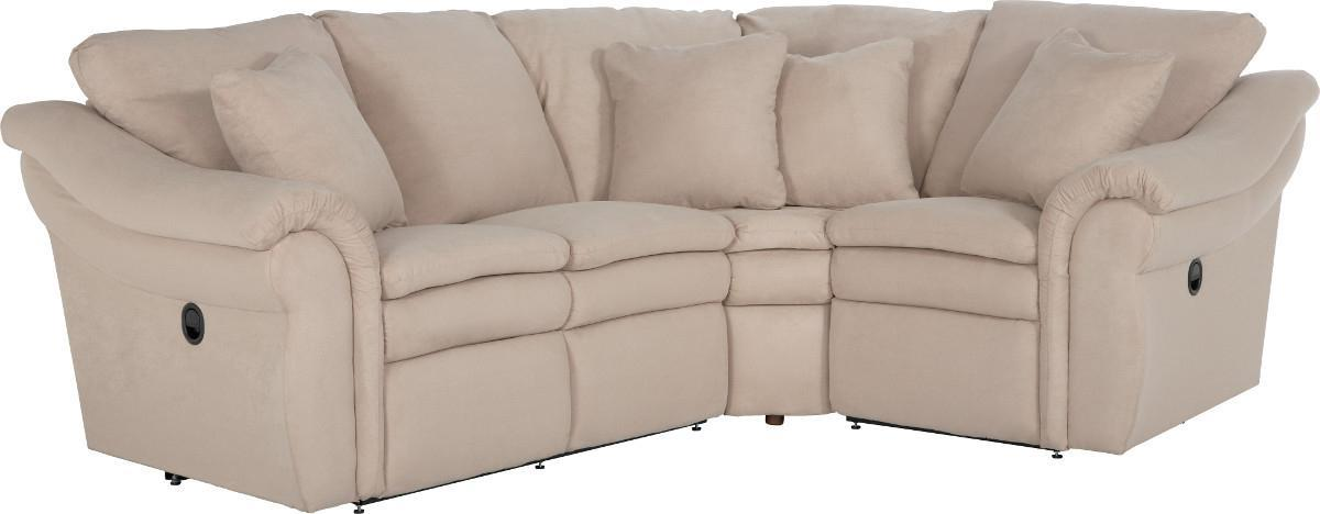 3 Pc Reclining Sectional Sofa with RAS Sofa