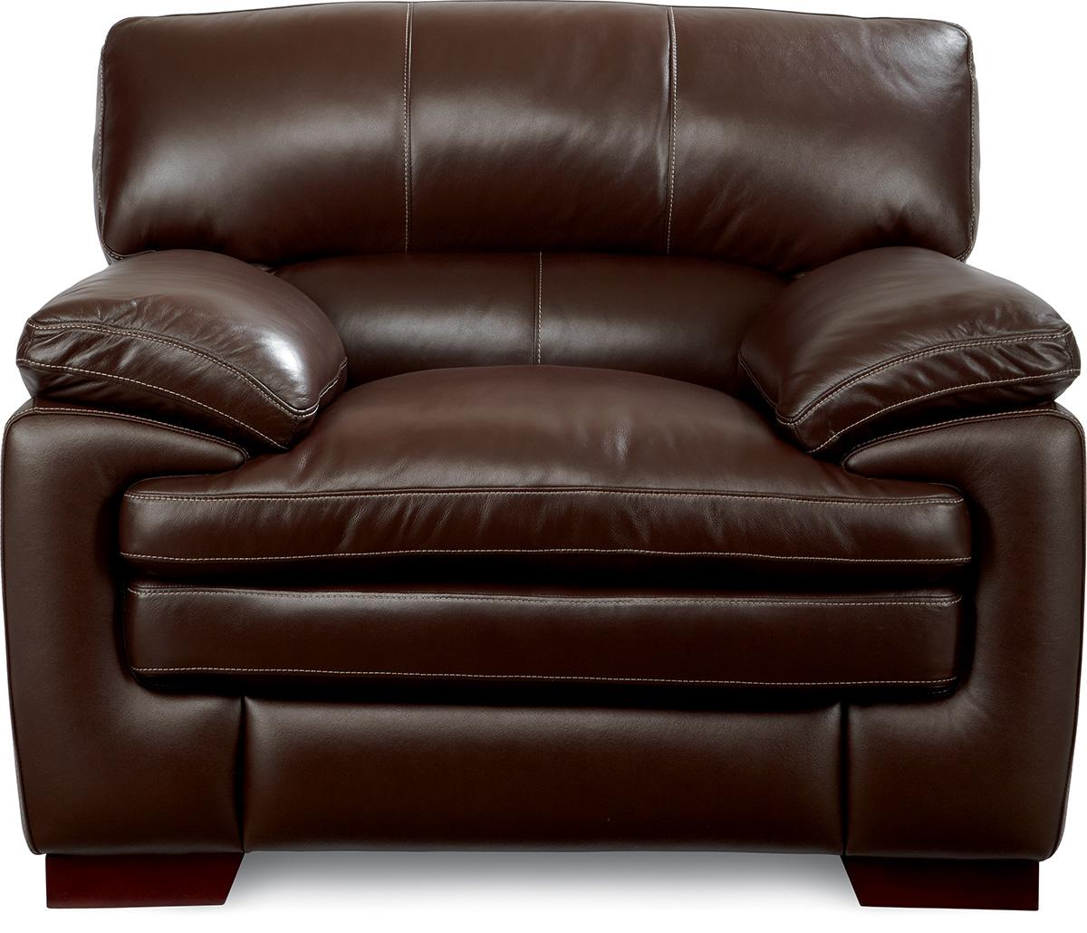 Casual Stationary Chair with Pillow Top Seat and Arms