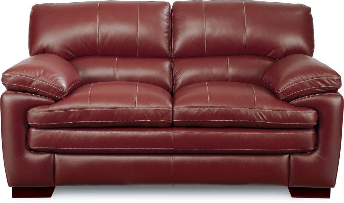 Casual Loveseat with Pillow Top Seat and Arms