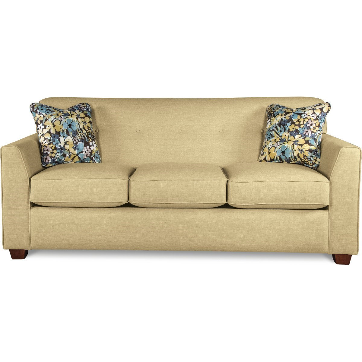 Contemporary Tufted Apartment Sleeper Sofa with Premier ComfortCore ...