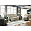Power La-Z-Time Full Reclining Sofa