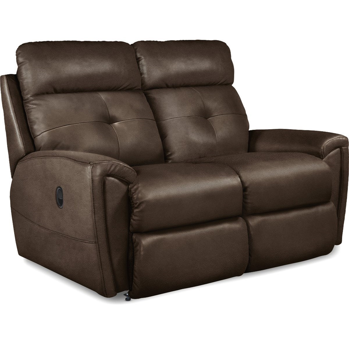 Contemporary Power Reclining Loveseat with USB Charging Ports and Power Tilt Headrests