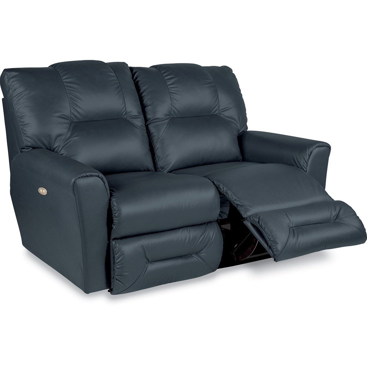 Casual La-Z-Time Full Reclining Loveseat with Power
