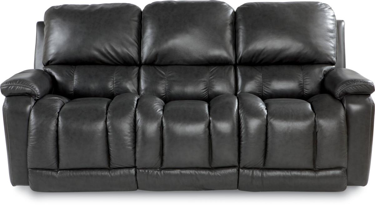 Casual Power La-Z-TimeFull Reclining Sofa with Bucket Seating