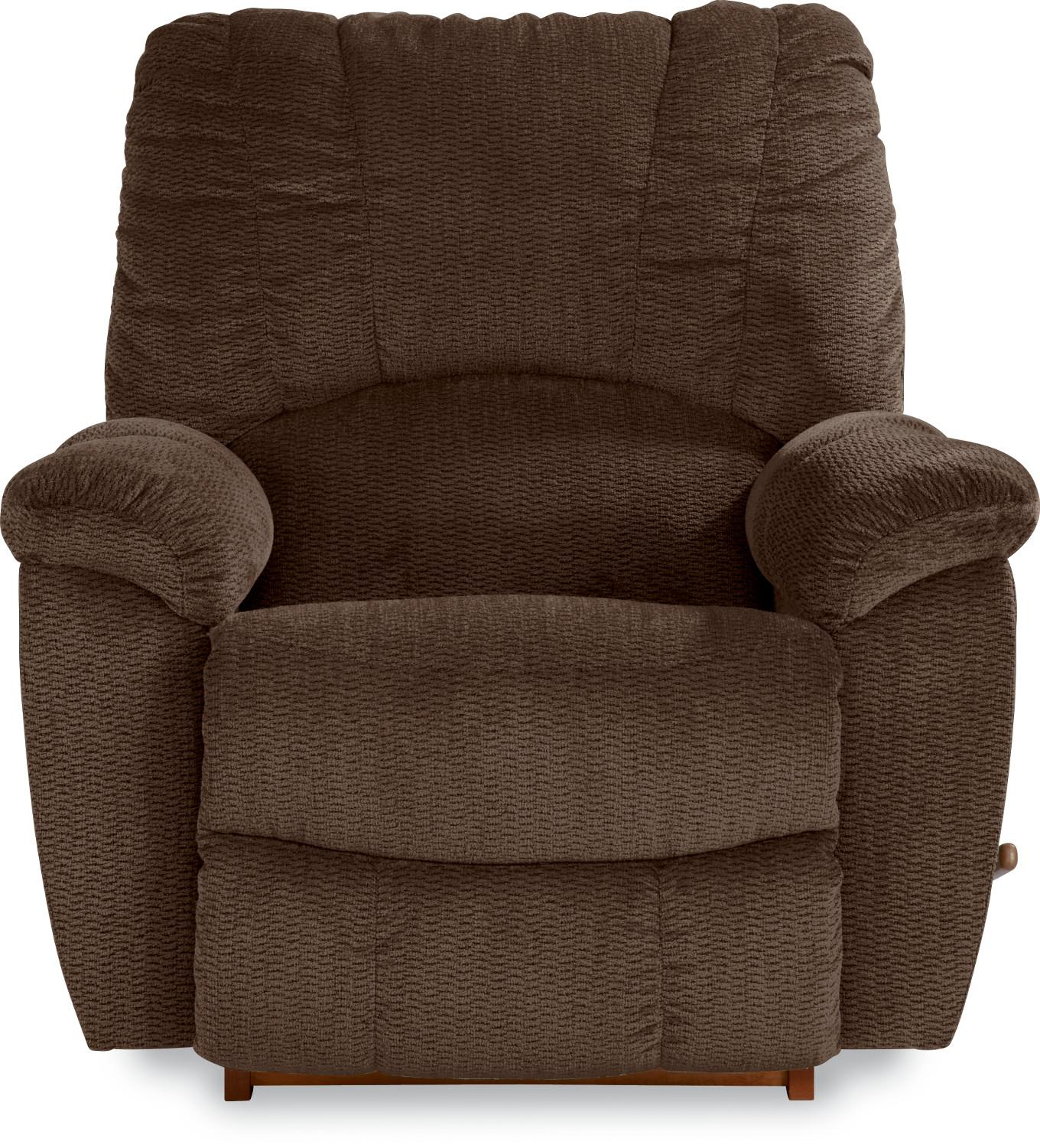 Casual RECLINA-ROCKER® with Channel-Stitched Back