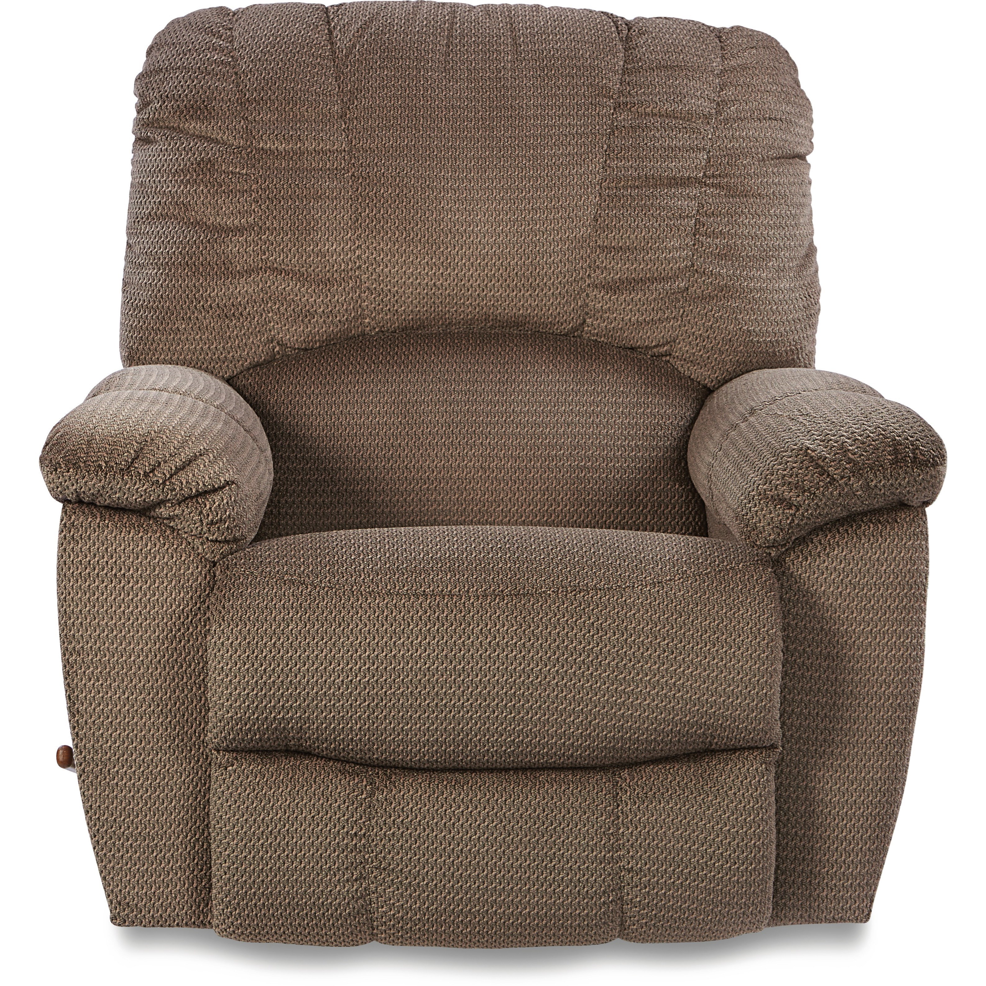 Casual RECLINA-WAY® Wall Recliner with Channel-Stitched Back