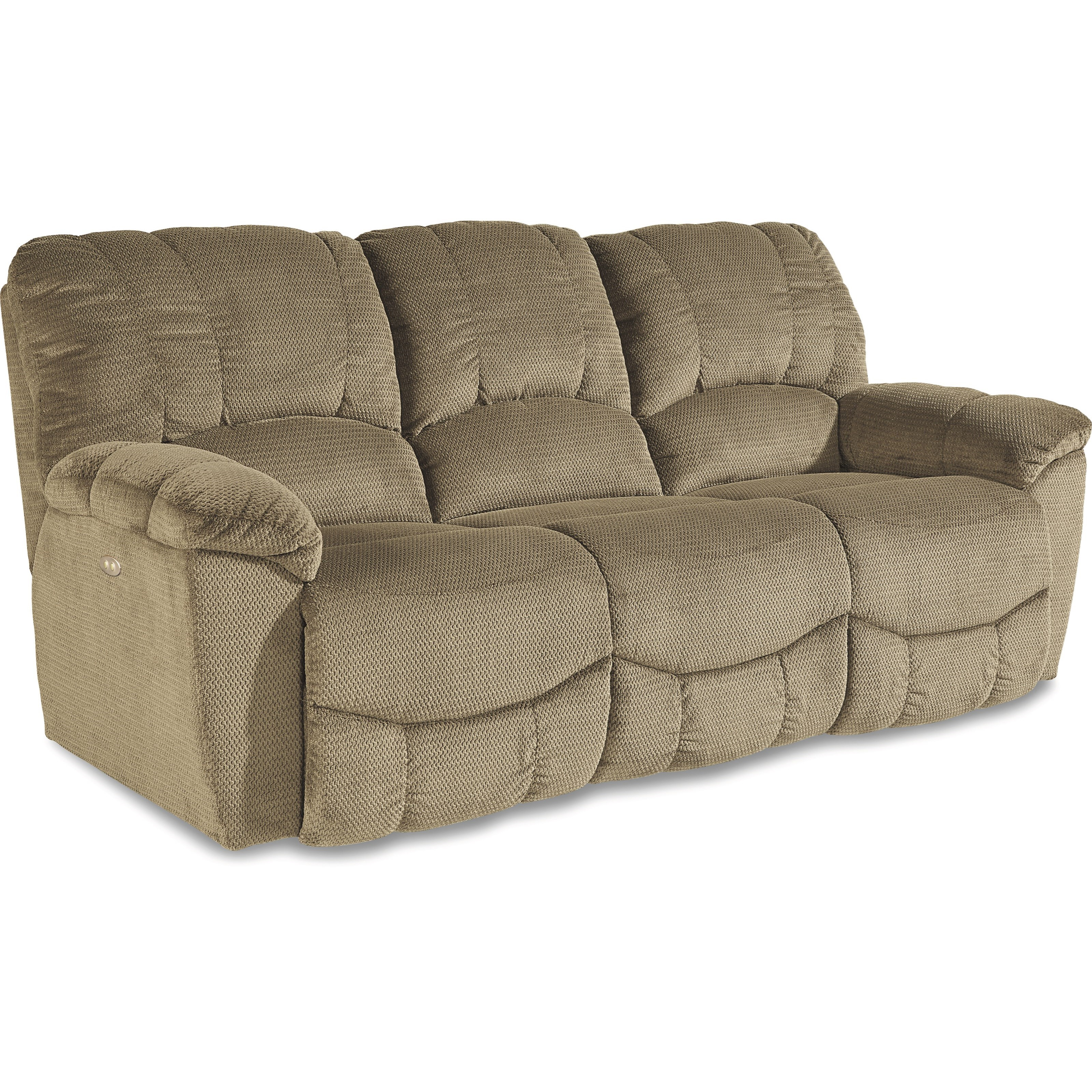 Casual Power La-Z-Time®Full Reclining Sofa with Channel-Stitched Back