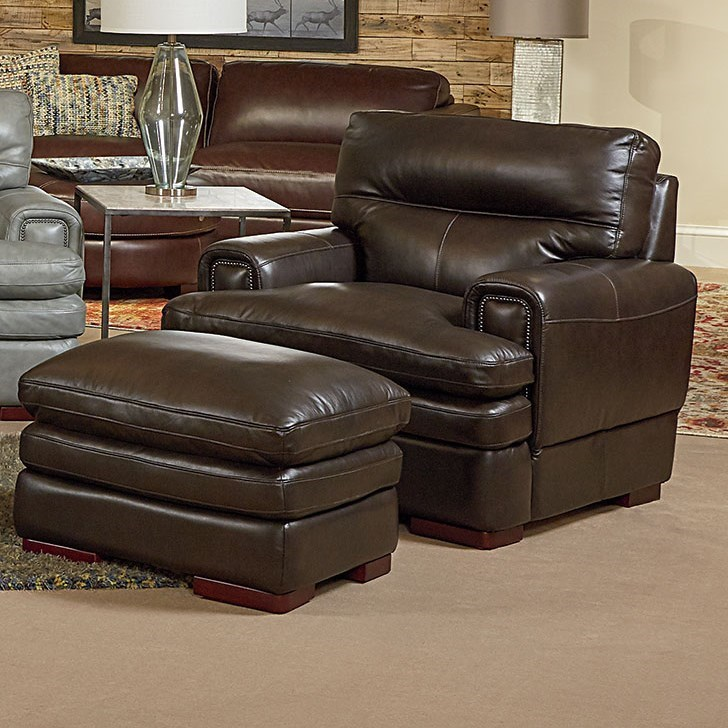 Casual Chair and Ottoman